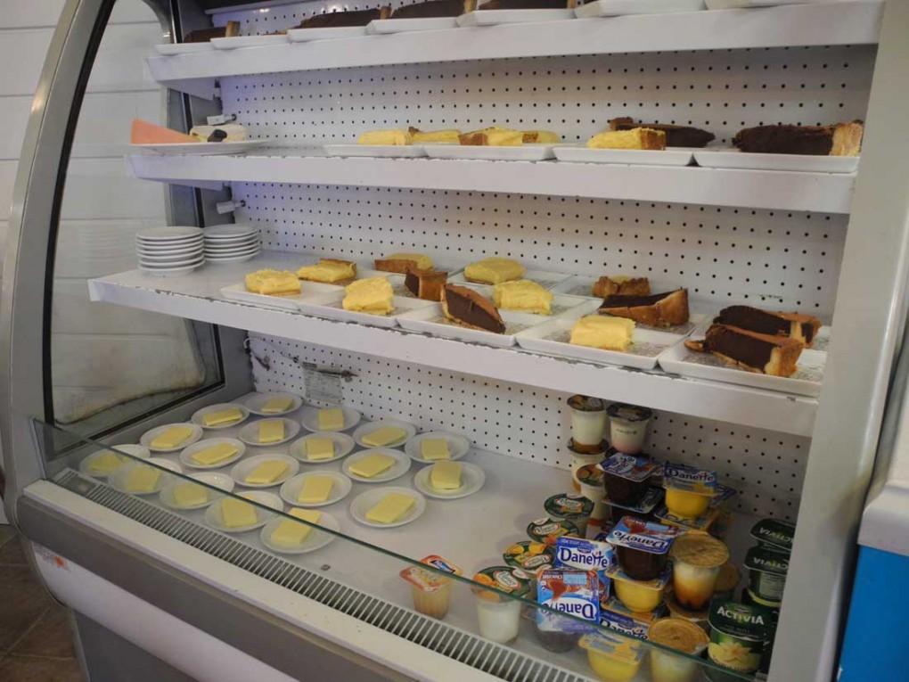 Le buffet des desserts-L'Abri Côtier Primelin