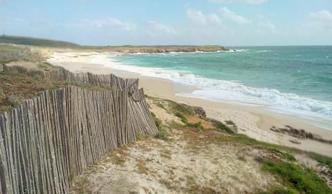 La plage de Saint Tugen